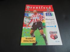 Brentford v Blackpool, 1997/98